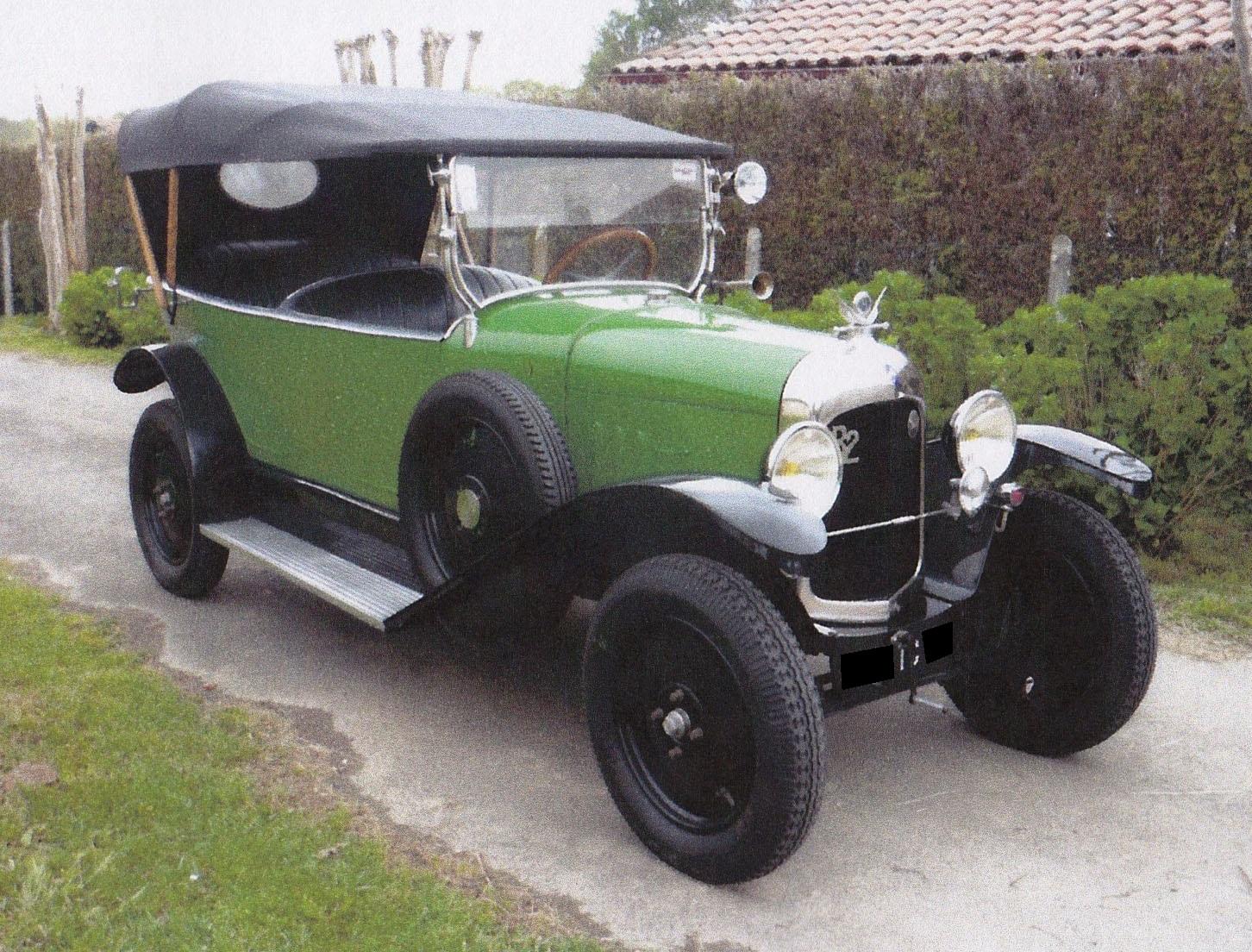 Citroen B2 Torpedo - 1922