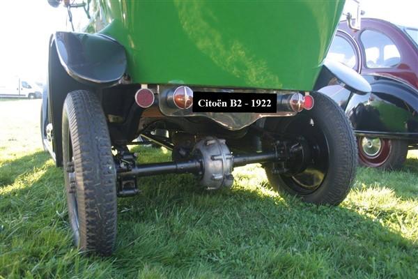 Pont AR Citroën B2 - 1922