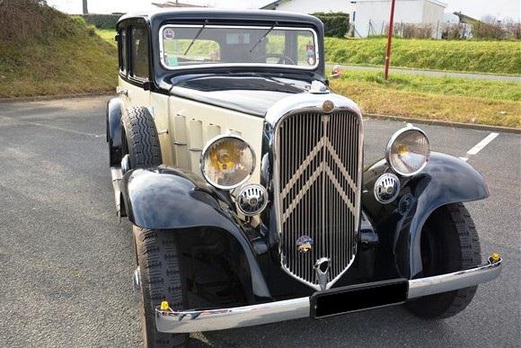 Citroën Rosalie - 1933