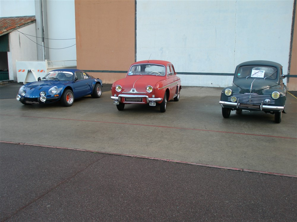 Renault Alpine, Dauphine & 4CV