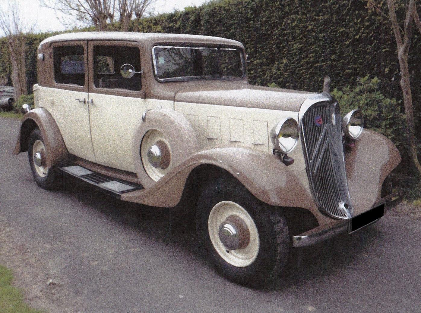 Citroen Rosalie - 1935